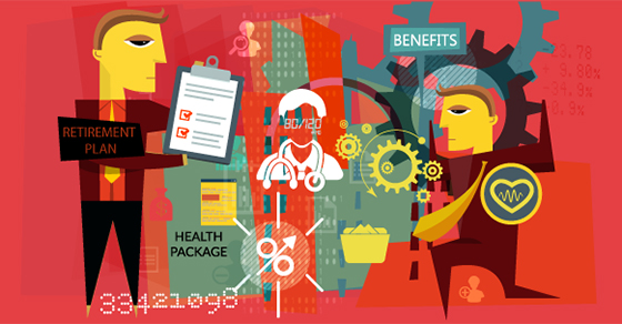 Illustration - man holding clipboard, medical professional, businessman