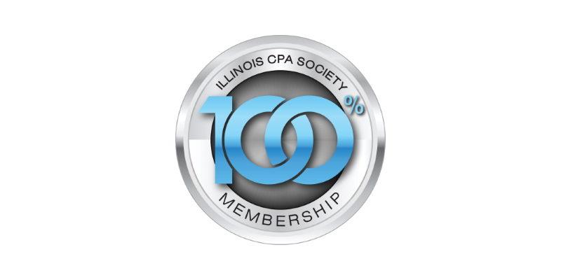 100% CPA Membership in ICPAS